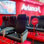 Avianca ya tiene nuevas sillas