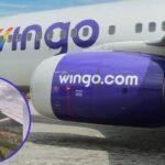 Avión de Wingo tuvo que aterrizar de emergencia en Rionegro, turbinas echaban chispas