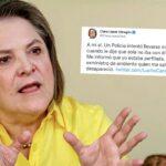 Clara López denunció perfilamiento en su contra