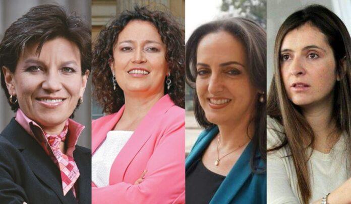 Comparan a Claudia López y Angélica Lozano con Cabal y Valencia