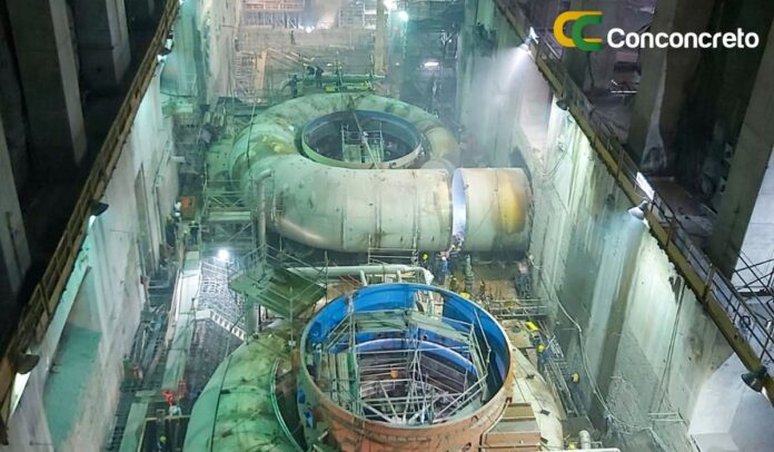 Conconcreto, empresa constructora de Hidroituango
