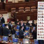 Congresistas que eliminaron ley de garantías