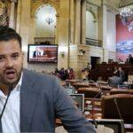 Inti Asprilla se va contra el uribismo
