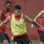 James Rodríguez listo para su primer partido con Al Rayyan