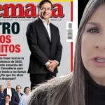 La portada de Revista Semana sobre Petro