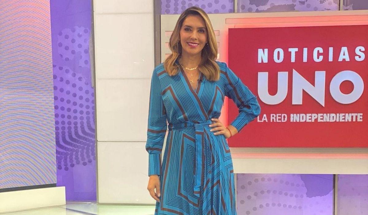 Mónica Rodríguez, presentadora de Noticias Uno