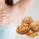 Nueces previenen el cáncer de mama