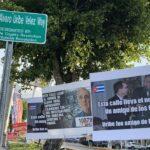 Nueva calle con el nombre de Uribe en Estados Unidos