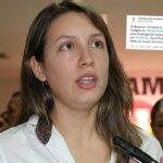 Sara Piedrahíta Lyons será investigada