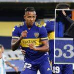 Sebastián Villa se estrena con Boca Juniors