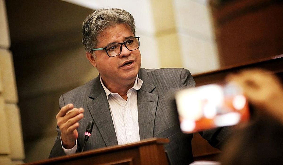 Wilson Arias. Fuente Senado